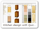 Kitchen design with QuickPick